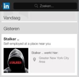 Stalker-promotion-on-LinkedIn
