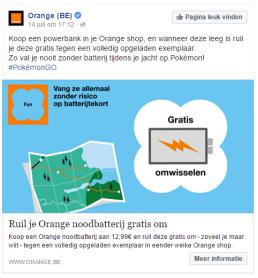 Orange Pokémon Go