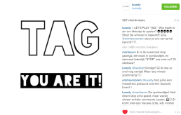 Instagram Tag Game by Luxedy