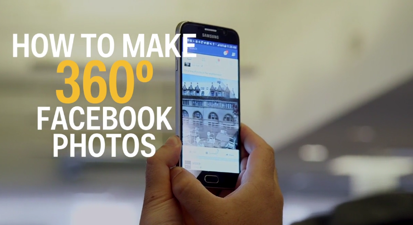 how to make 360 Facebook Photos