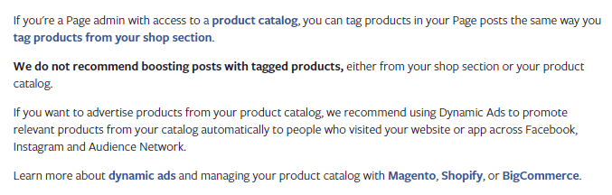 New on Facebook: Tag Products