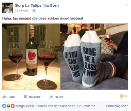 facebook post wine grower