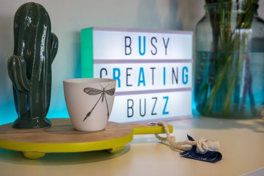 So Buzzy - Busy Creating Buzz