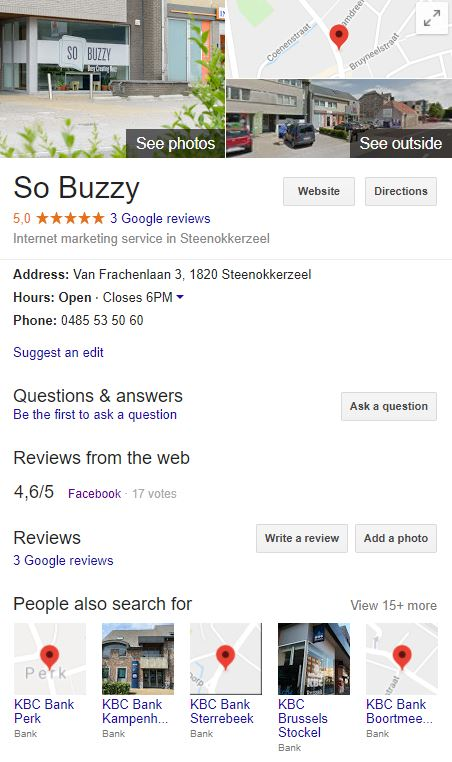 Google Business Page