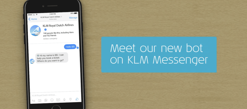 The Social Conference - KLM Bot