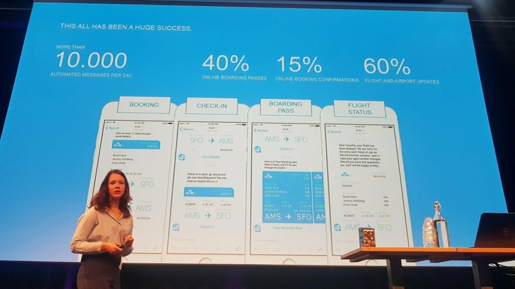 The Social Conference - KLM WhatsApp vs Messenger