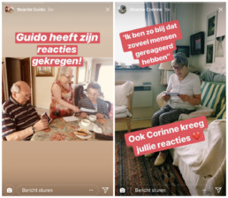 social media inspiratie: Instagrannies Instagram Story