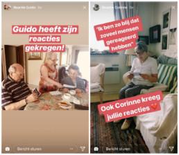 social media inspiratie: Instagrannies Instagram Story