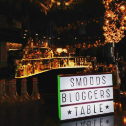 Hotel BLOOM! SmoodS Bloggers Table