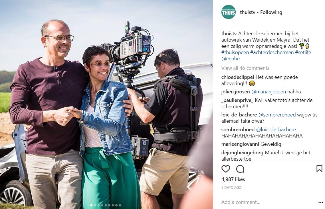 social media inspiratie Instagram post Thuis