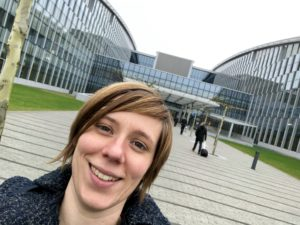 Sarah bij NATO