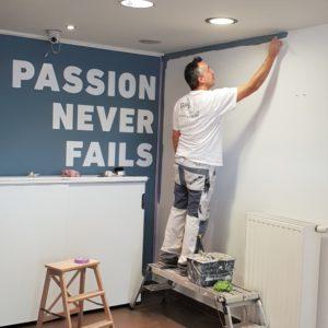 Schilderwerken So Buzzy kantoor door Gerrit Paint Service