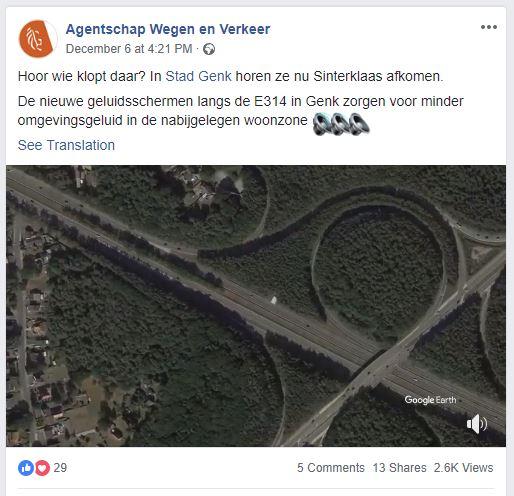 Agentschap wegen en verkeer Sint