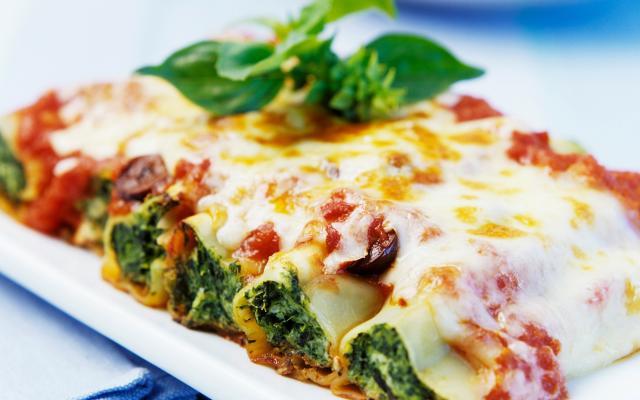 Canelloni met ricota en spinazie - favoriete gerecht