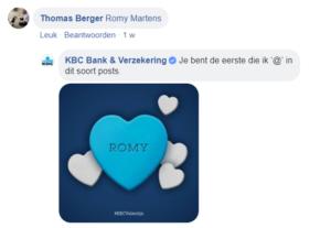valentijn kbc romy