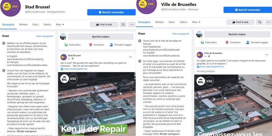 Stad Brussel Facebook