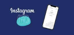 Hoofdafbeelding Instagram FAQ